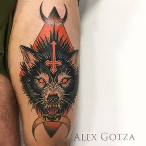 Tattoo by Alex Gotza .Done using: @kwadron @sunskintattoo @balm_tattoo #tattoo #tattoos #inked #tattooart #neotraditional #neotraditionaltattoo #colortattoo