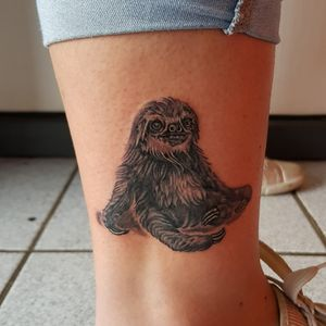 Slow down..... and check this sloth out #slothtattoo