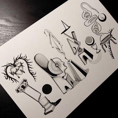 #totemica #tunguska #black #tattoo #flash #drawing #zodiac #leo #virgo #libra #scorpio #blackworkers #ontheroad #guest #tattooing #WTT #where_they_tatt #italy #netherlands #spain