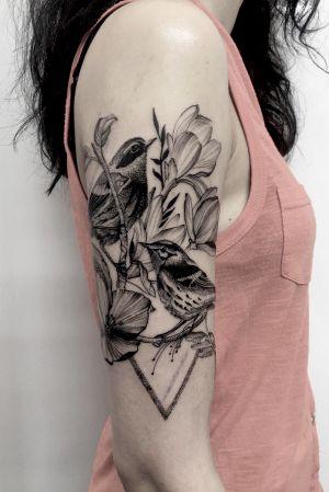 Elegant tattoo for ashley.