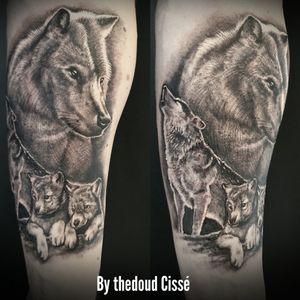 Tattoo wolf family black and grey by thedoud Cissé @prilaga #tattoosofinstagram #tattooink #tattoosleeve #prilaga #tattoolife #tattooing #tattoos #tattooartist #tattooist #tattooideas #tattoooftheday #tattoodo #tattoo2me #tattooer #tattooart #tattoostudio #tattoolove #tattooflash #tattoo #tattooed #tattoodesign #tattoostyle #tattoomodel