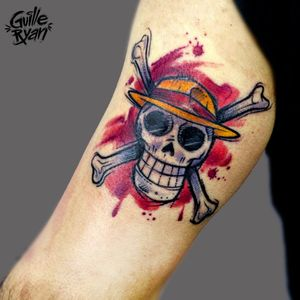 @guilleryan.arttattoo guilleryanarttattoo@gmail.com #onepiece #tattoos #animetattoos #geektattoos #sketchtattoos #inkgeekstattoos #tattoobarcelona #sketchtattoo #watercolor #watercolorartist #watercolortattoo