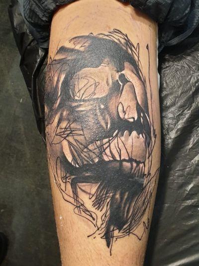 #artculturetattoo #art #ink #inked #skulls #skulltattoo #blackandgray #Black #fantasy #tattooart #fantasytattoos
