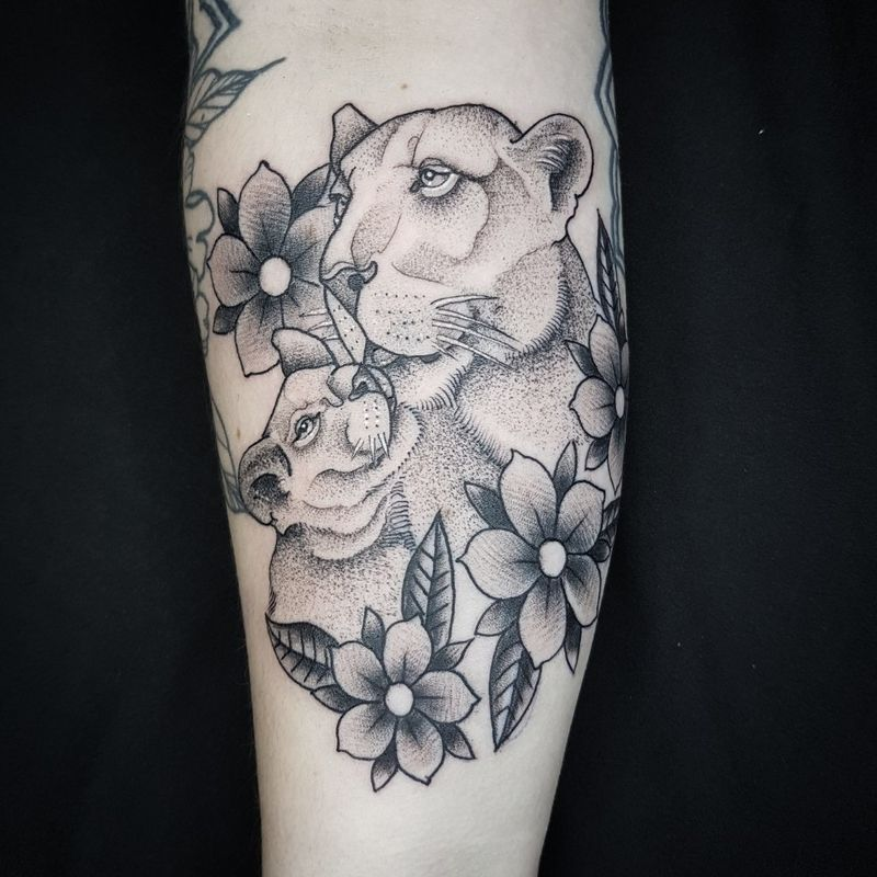 Tattoo from Cesar Magrones