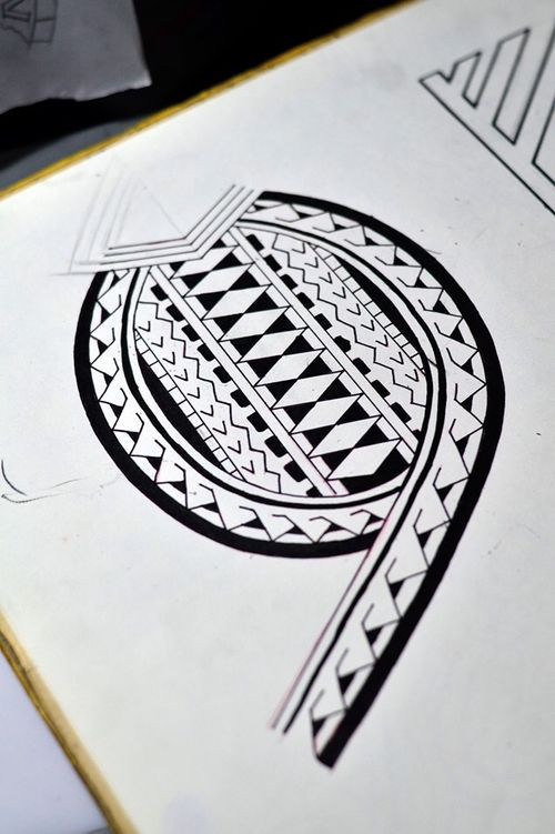 #maori #tattoosketch @thiagopadovani