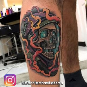 ◾ Extinction ◾ thanks to my client 🔥 follow me on instagram @ barrientostattoo . . . . #neotraditional #neotraditionaltattoo #neotraditionaltattoos #tattodoo