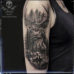 Schönes Wochenende mit einem #naturetattoo  📷@CRAZY.INK.TATTOO.BERLIN . Montag sind wir wie immer ab 12 für Euch da... . Kurzfristig Termine frei... . Infos wie immer 017627112764 auch WhatsApp...⠀⠀ . https://crazy-ink-tattoo.de . https://facebook.com/crazy.ink.tattoo.berlin . https://instagram.com/crazy.ink.tattoo.berlin . . . #tattoo #tattoos #tattooberlin #tattoomoabit #crazyinkberlin #crazyinktattoo #crazyinktattooberlin #tattoist #bodyart #berlintattooartist #berlintattooartists #tattooart #blackngrey #blackandgreytattoos #tattooer #tattooshopberlin #berlintattooers #berlintattoostudios #realismtattoo #realistictattoo #blackandgreytattoo #superbtattoos #rosetattoo #realistictattoos #tattoogirls #girlswithtattoos #deertattoo  #wildlifetattoo #fishingtattoo