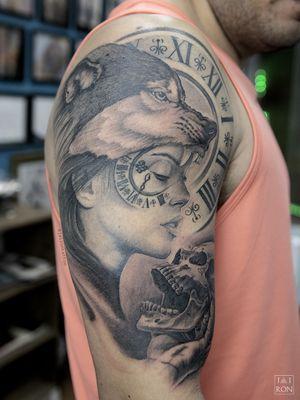 Realismo #tattoorealismo #tattoorealistic #blackandgreytattoo #bngtattoos