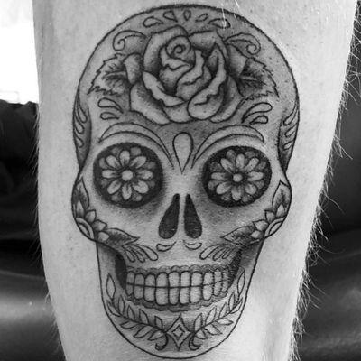 Calavera #sugarskull #skull #mexico
