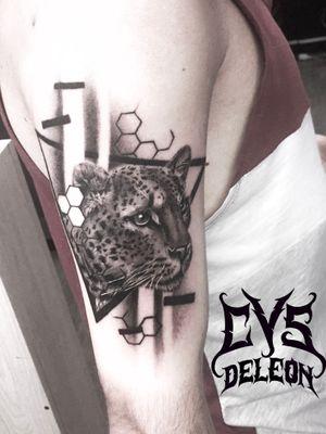 #leopardtattoo #tattoo #felino
