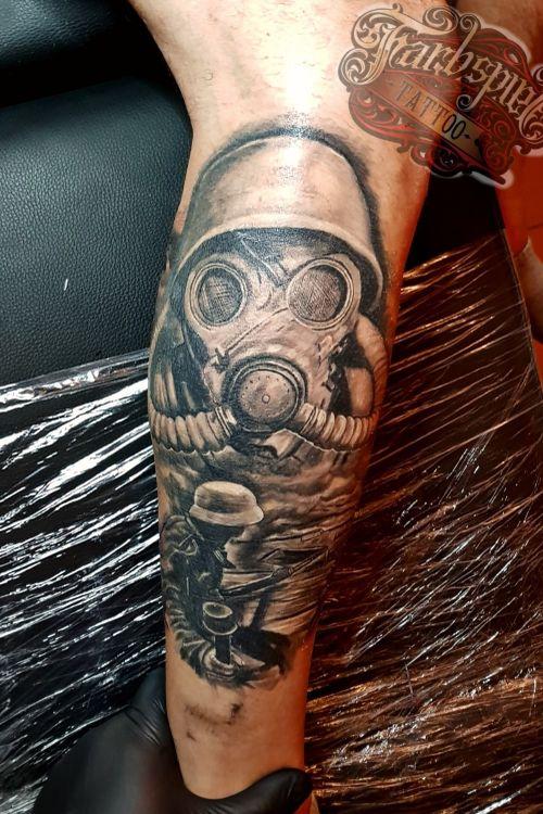 #bremen #brementattoo #tattoobremen #tattoostudiobremen #tattoo #tätowierung #tattoos #farbspieltattoo #artist #sleeve #soldier #progress