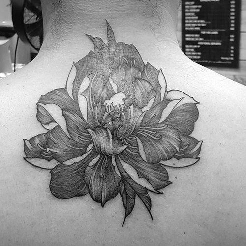 #fineline custom #flower