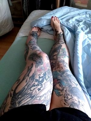 No more place 🤔#tattoos #inkedwoman #inkspector #inkedgirl #inkedman #mone1971 #inkmaster #bunt #farbe #colour #legs #germantattooer #natur #spitze #spitzenschuh#kunst #follow #followforfollower #instatattoo #germantattooer #natur #löwe #emgel