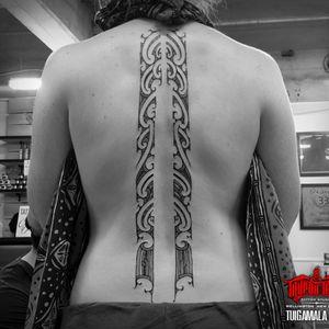#freehand #maori #kirituhi spice piece #female #tattoo