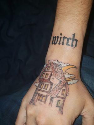 #witchtattoo