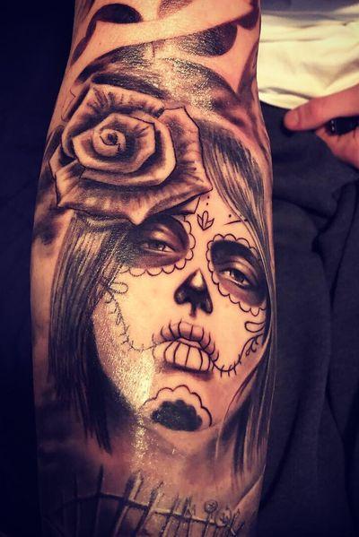 Day of the dead girl #DiaDeLosMuertos