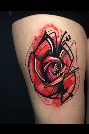 Rose 🌹 i did the other day.. #skinart_mag#customtattoo#hustlebutterdeluxe#killerinktattoo#art#rosetattoo#d_world_of_ink#tattoosnob#where_they_tatt#tattoodo#artist#tattooartistmagazine#totaltattoomagazine#worldfamousink#rose#abstractart#abstracttattoo#freehandtattoo#london#tattoos_of_instagram#tattoolifemagazine#tattooersubmission#inkedmag#theartoftattoos#travelstyle#art#artwork#tattoosketch#intenzepride