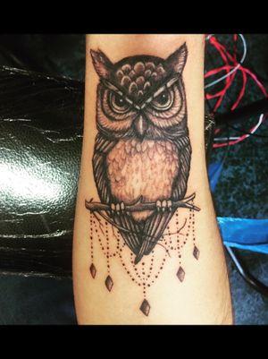 Buho 🦉#tattooowl #buho #tattoo #tatuajes #tatu #animaltattoo #buhotatuaje