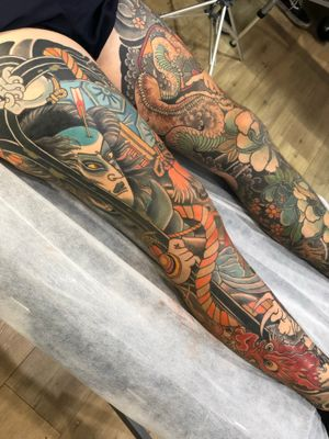 #japanese #japanesetattoo #irezumi #tomomori #tattooartist