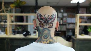 #butterfly #minsk #andreivintikov #minsktattoo #traditional #butterflytattoo