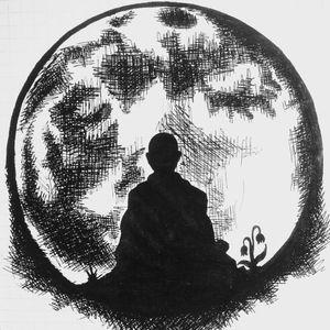 Meditation. Sketch