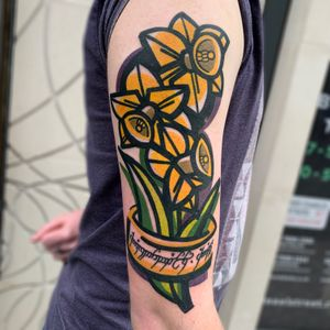 Daffs #daffodil #illustration