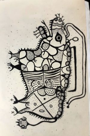 Inspired by australian cave art