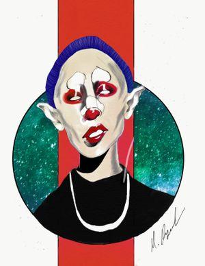 Psycho clown #psycho #clown #clowntattoo