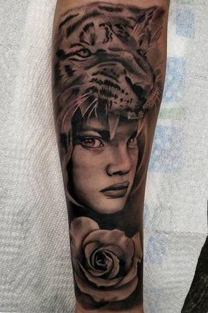 Black and grey realism! Email anabananaink@gmail.com