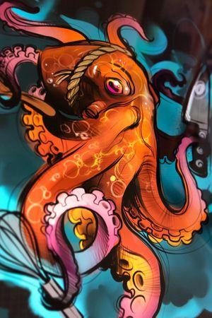 Octopus ♥️ #tattoodo #clotoacherontia #octopustattoo