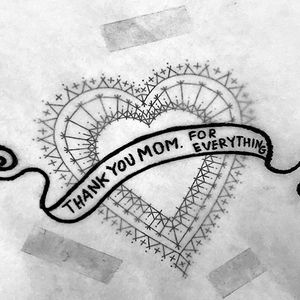 Love yer mama. #mothersday #momtattoo #fineline #scottcampbell