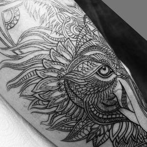 #Trachic Tattoo : Private tattoo studio in Brussels. #illustrative work #wolf tattoo #fine line #fine art #best tattoo Brussels #tattoo artist #flower tattoo #lines work