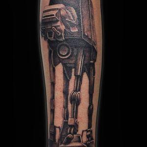 #Trachic Tattoo : Private tattoo studio in Brussels. #illustrative work #black and gray tattoo #star wars tattoo #fine art #best tattoo Brussels