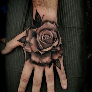 Hand rose ! 20% off full hand Tattoos! Only for the month of June!