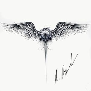 #angelwings #compass