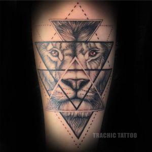 #Trachic Tattoo : Private tattoo studio in Brussels. #illustrative work #lion tattoo #black and gray tattoo #fine art #best tattoo Brussels #tattoo artist