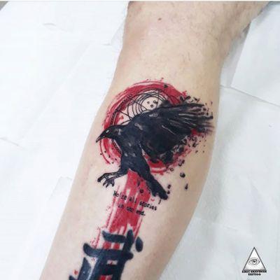 Tatuagem estilo trash polka, em homenagem ao @bbcdoctorwho COMENTE, CURTA E MARQUE ALGUÉM QUE GOSTARIA DE VER ESSA ARTE. Informações e agendamentos: (11)9.9377-6985 . . . . . #ericskavinsktattoo #bbc #doctorwho #nerdtattoo #trashpolkatattoo #red #black #geek #seriado #televisao #tatuagem #inked #tattoo #tatuajes #tattoo2me #tattsketches #tattoopins #alphavilleearredores #alphaville #barueri #toptattoo #followme #like4like #arte #easyglowpigments @easyglowpigments