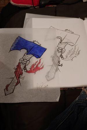 #hatchet #sketchstyle