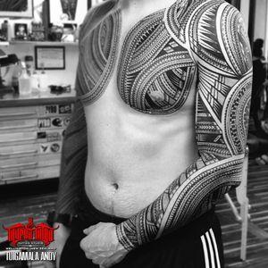 Tattoo by Taupou Tatau Tattoo Studio
