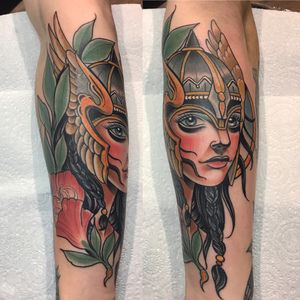 Greek godesses #neotraditional #ladyface #flowers #greek #tattoo #godesses