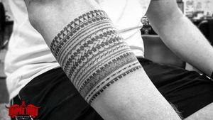 #freehand #samoan #taulima #armband