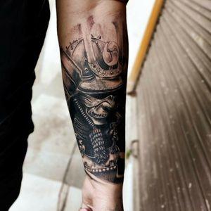 Samurai katana cover up tattoo @Piyushtattoo1995