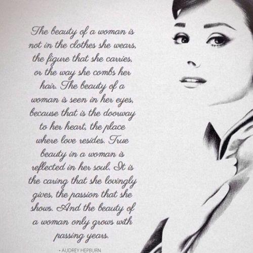 Audrey Hepburn my favorite actress