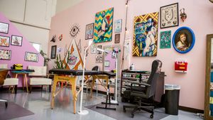 Pink Goblin Tattoo in Athens, Georgia #KimDeakins #PinkGoblinTattoo #Athens #georgia #femaletattooartist #femaletattooist #femaleartist #womensempowerment #safespace #tattoostudio #tattooshop