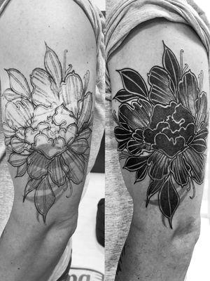 Перекрытие 1 сеанс Первая часть Я процесс #tattoo #tattoorealism #anomalytattoo #tattooman #tattooer #tattoo2me#tattoo_artwork #realistictattoo #blackandgreytattoo