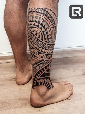 #freehand #raskinstyle #black #Polynesia #tatu #polynesiantattoo