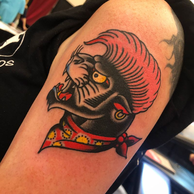 Tattoo from Dave Borjes