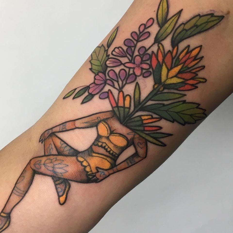 Tattoo by Emilie Robinson of The Aldrich Tattoo Parlour in Minneapolis, Minnesota #EmilieRobinson #TheAldrichTattooParlour #Minneapolis #femaletattooartist #femaletattooist #femaleartist #womensempowerment #safespace #tattoostudio #tattooshop