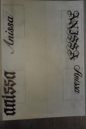 Nieuwe lettertype's! #lettering #practicemakesperfect