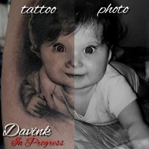 😍😍😍The baby portrait ... best gift of mother's day evaaa😭😭😭😍😍😍😍 ( in progress )💣💣💣💣💣 . . . . . . . . . . #skinartmag #tattoos #ink #inked #tattooed #blacktattooing #tattooartist #blackwork #mothersday #blackworkerssubmission #blacktattooart #darkartists #instatattoo #blacktattoomag #blackworkers #onlyblackart #inkedmagazine #inkedmag #tat #realistic #realistictattoo #baby #lovemybabies #ink #inked #tattooed #amazing #amazingink #stayinkwithdavink #picofday #realismtattoo